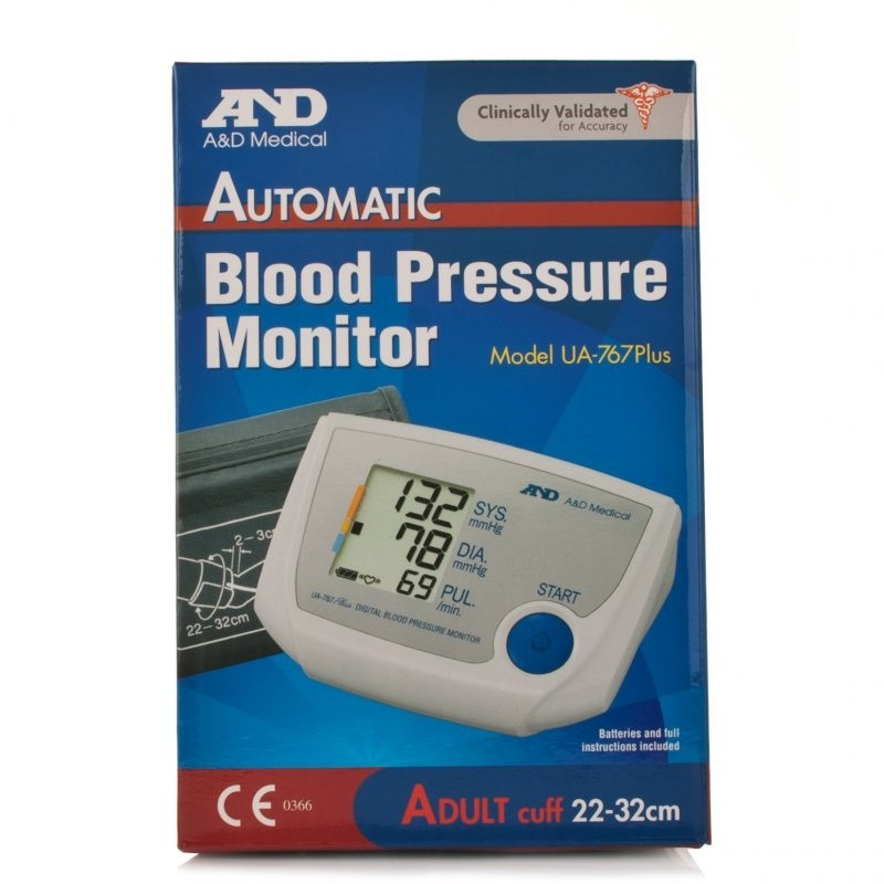 A&D Ua767 Plus Blood Pressure Monitor