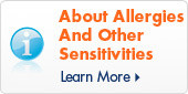 About Allergies Sensitivities