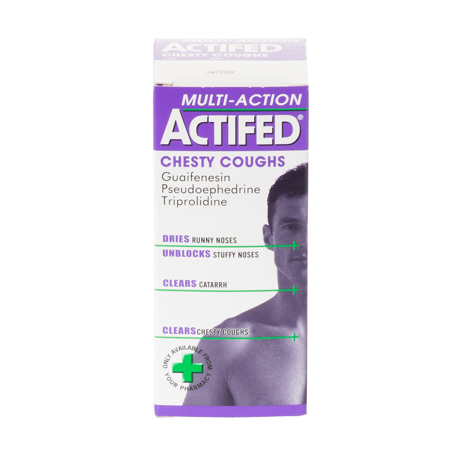Stockists of Actifed Multi-Action Chesty Coughs