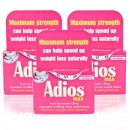 Adios Max Herbal Slimming Tablets Triple Pack
