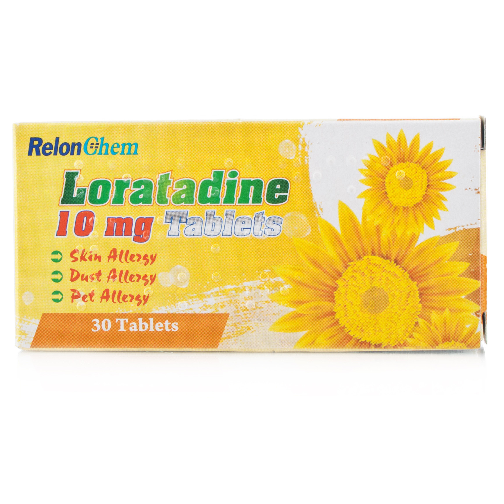 allergy hayfever relief loratadine 30 days tablets chemist direct. Black Bedroom Furniture Sets. Home Design Ideas