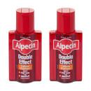 Alpecin Double Effect Caffeine Shampoo Twin Pack