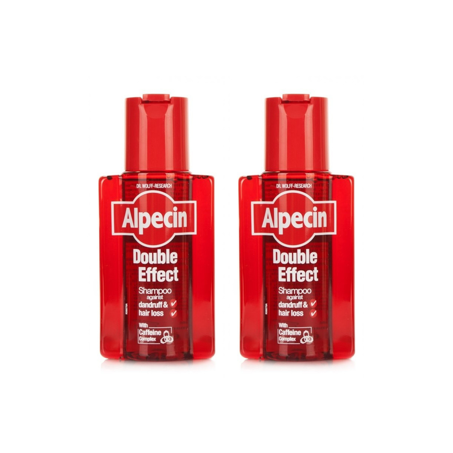 Alpecin Double Effect Shampoo Twin Pack