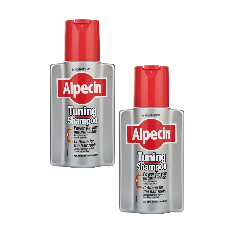 Alpecin Tuning Shampoo 200ml Twinpack