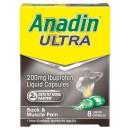 Anadin Ultra 200mg Liquid Capsules