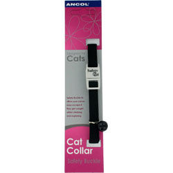 Ancol Cat Collar Snag Proof Black