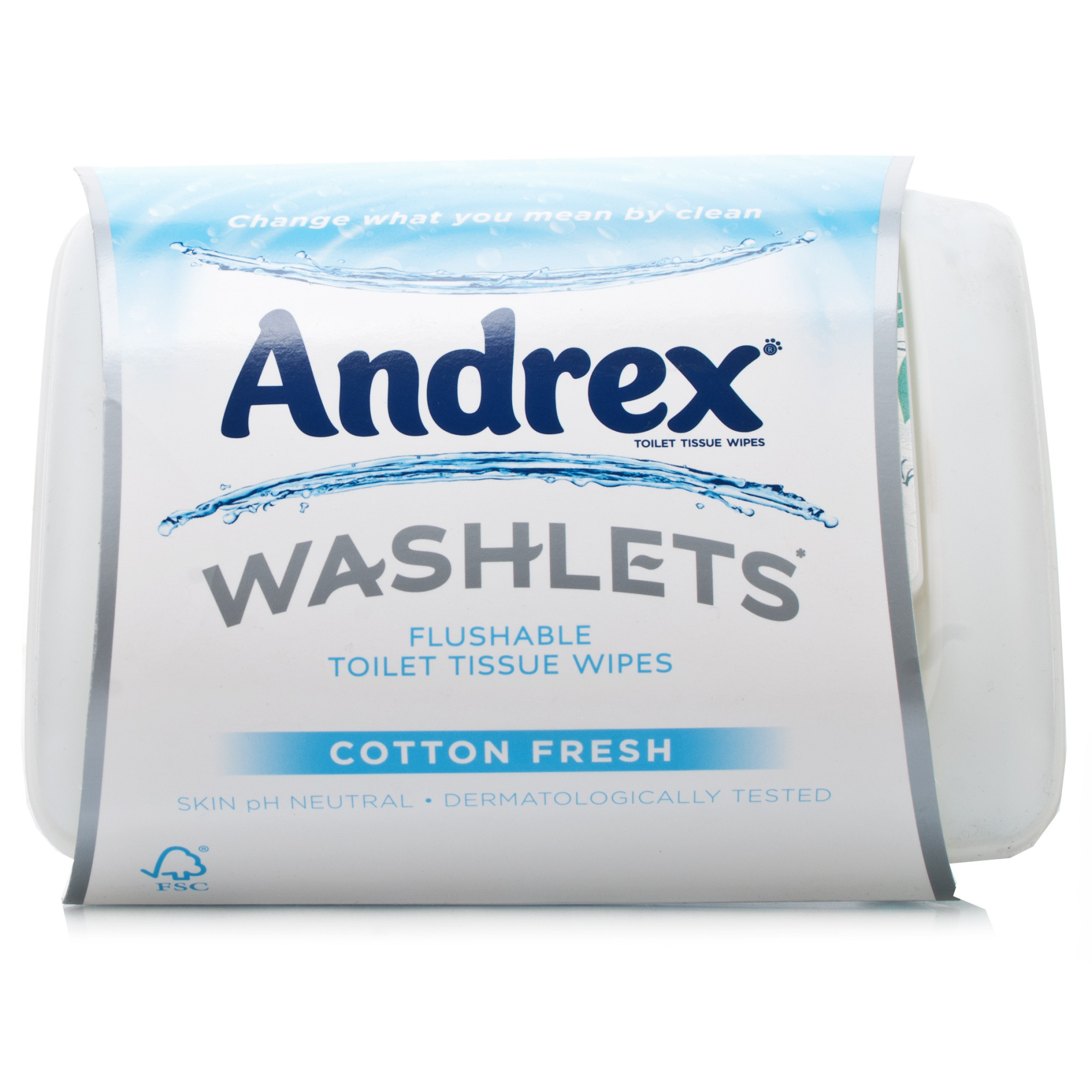 Andrex Washlets Flushable Toilet Tissue