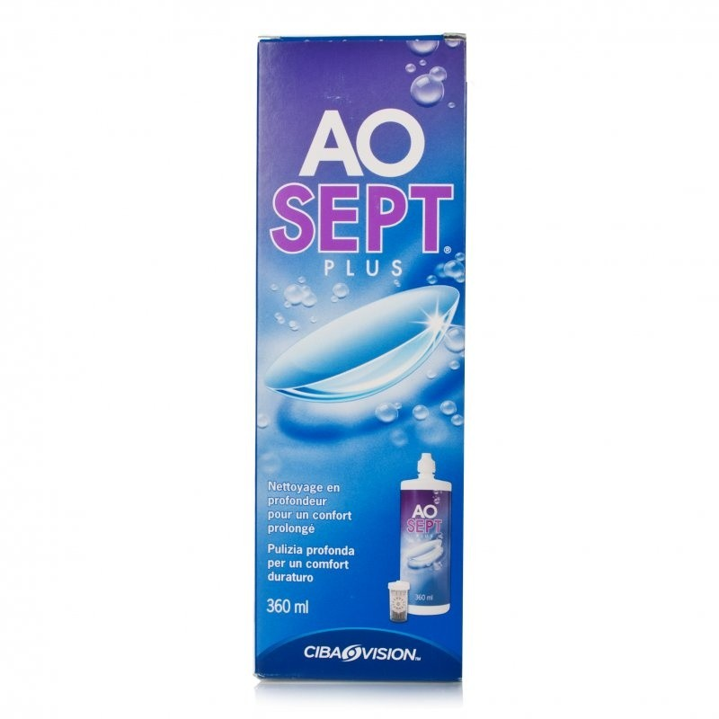 Aosept Plus Contact Lens Solution