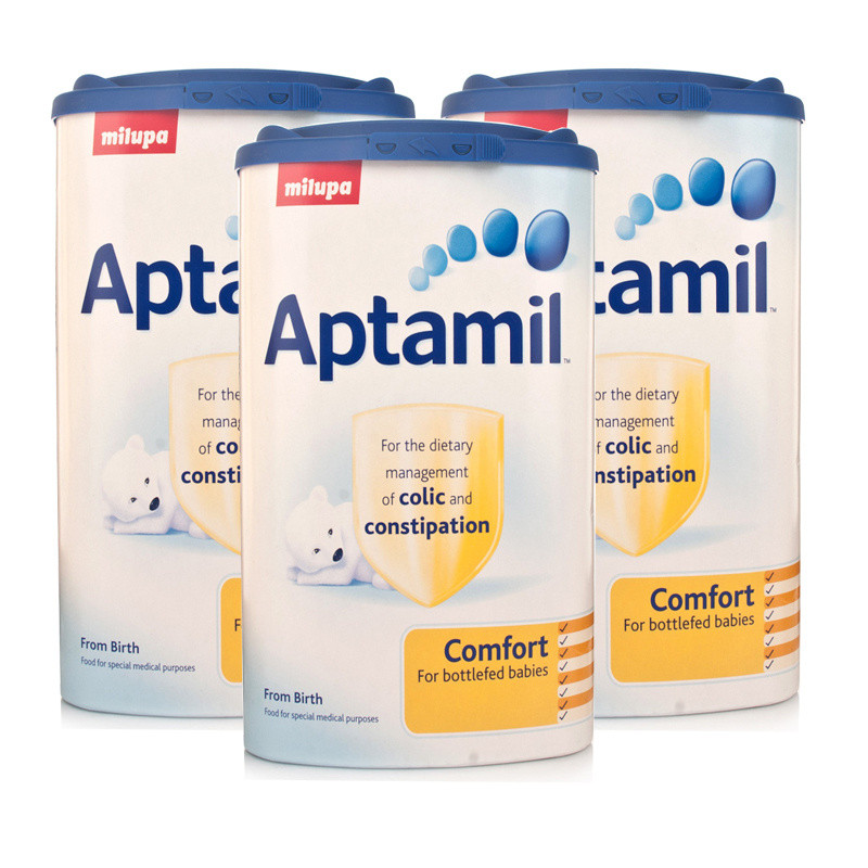 Aptamil Comfort Formula Powder 900g  Triple Pack