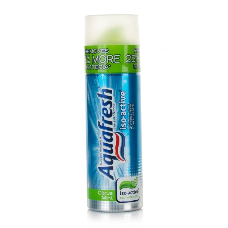 Aquafresh Iso-Active Toothpaste Pump Citrus Mint