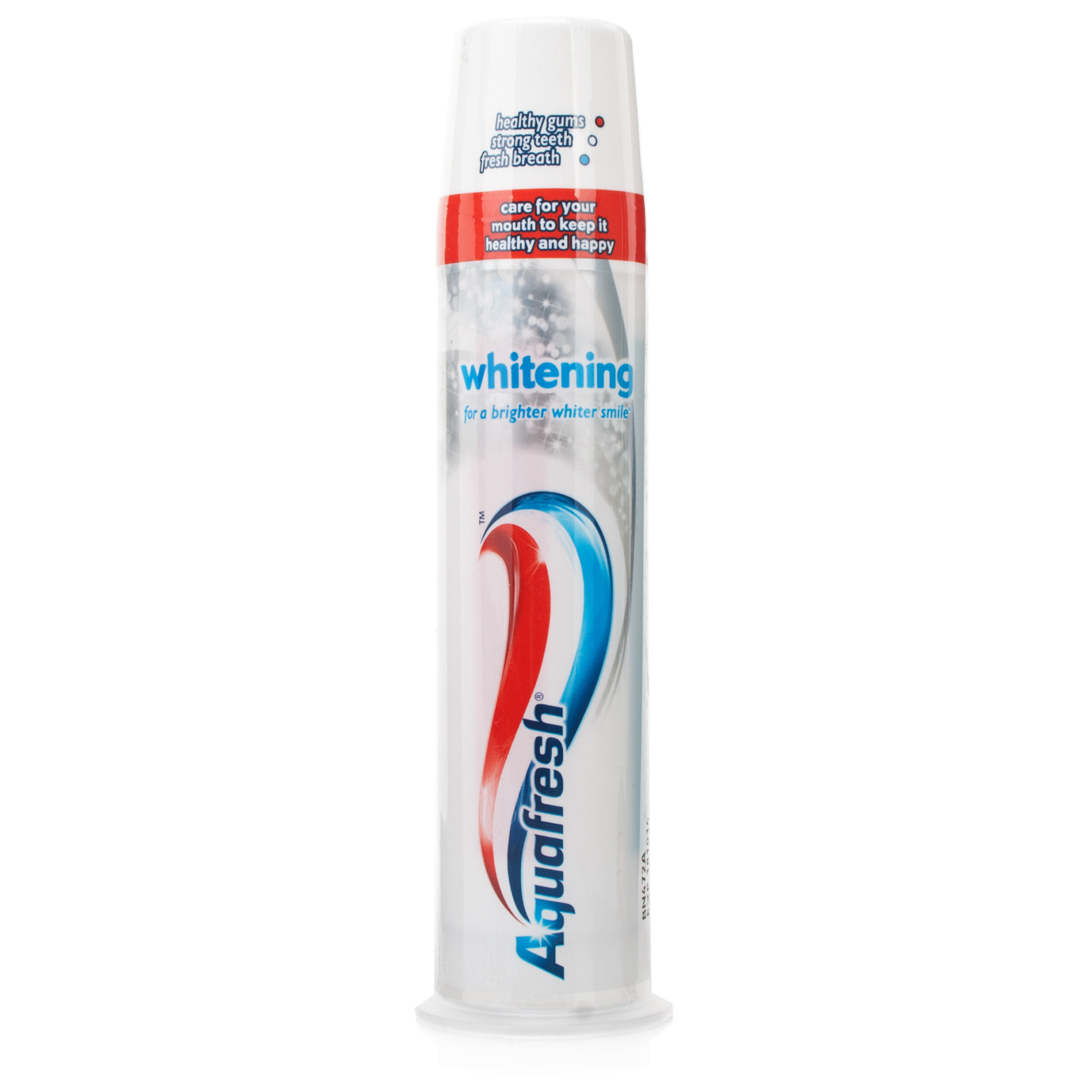 Aquafresh Whitening Toothpaste Pump | Chemist Direct