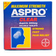 Aspro Clear Maximum Strength Soluble Aspirin