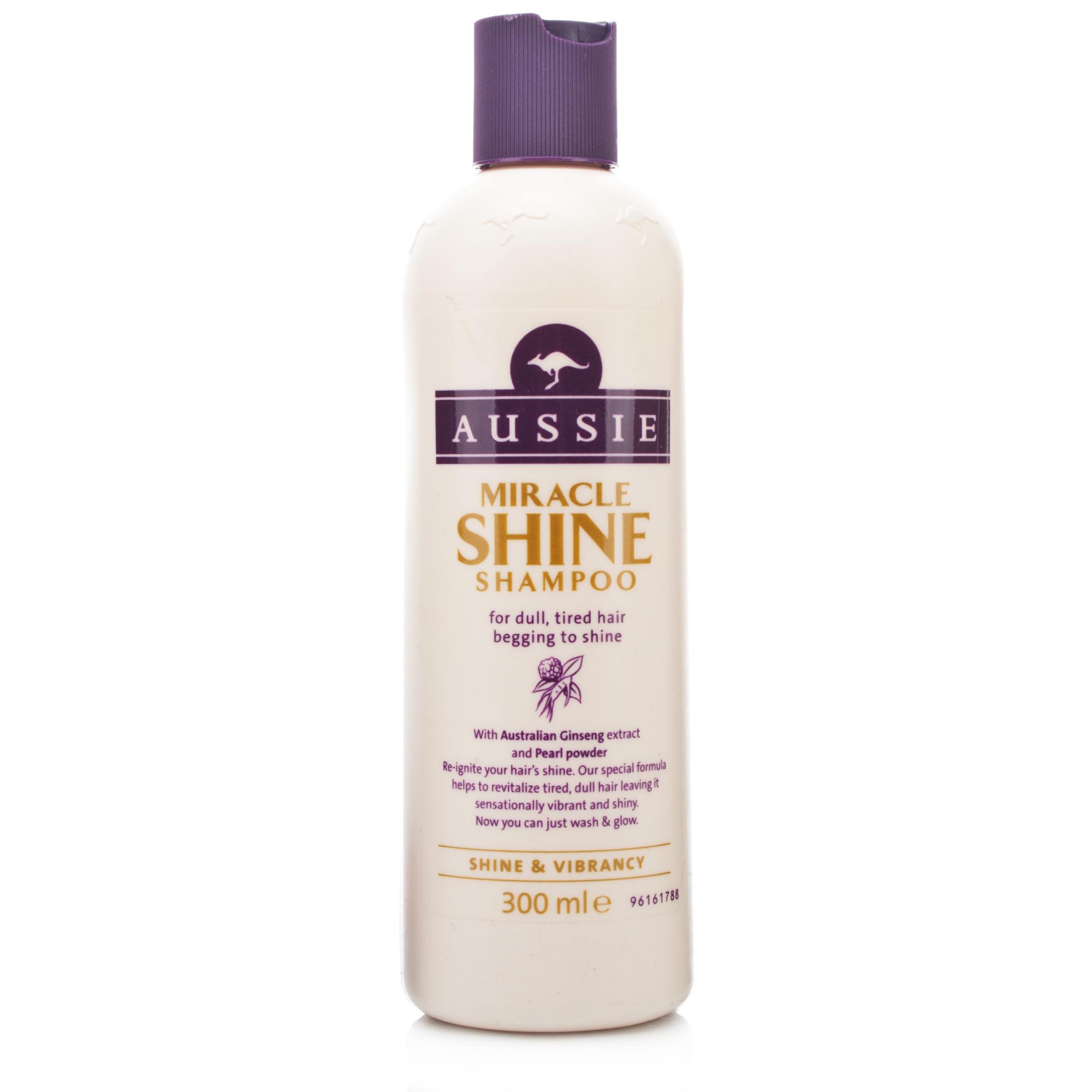 Aussie Miracle Shine Shampoo