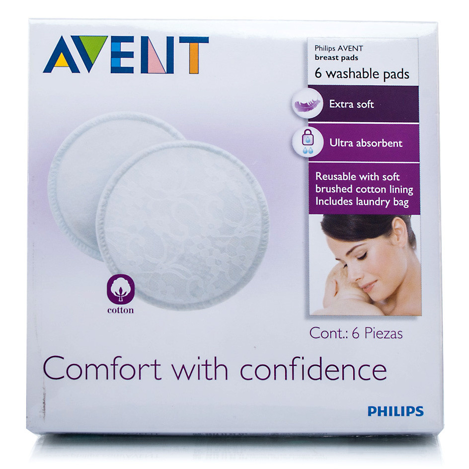 Avent Breast Pads Washable