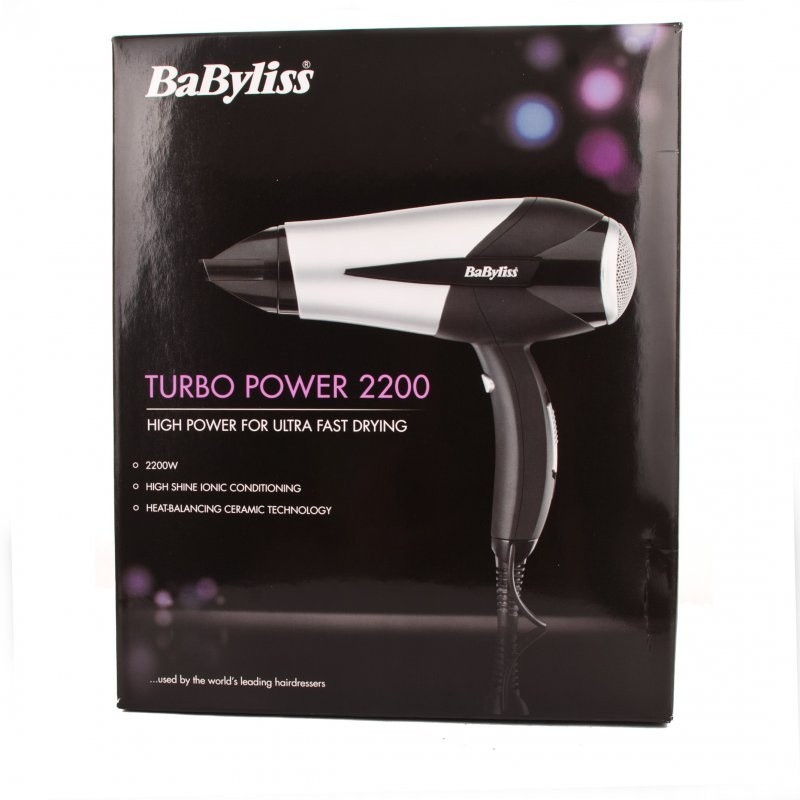 BaByliss 5567U Turbo Power 2200W Hair Dryer
