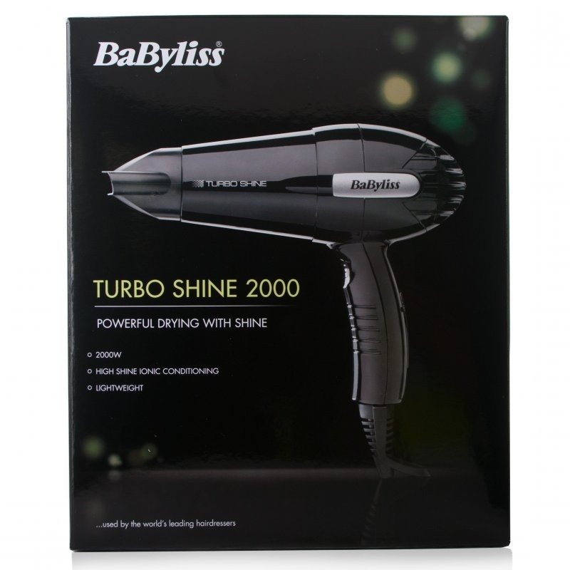 Babyliss 5116U Turbo Shine 2000W Hair Dryer