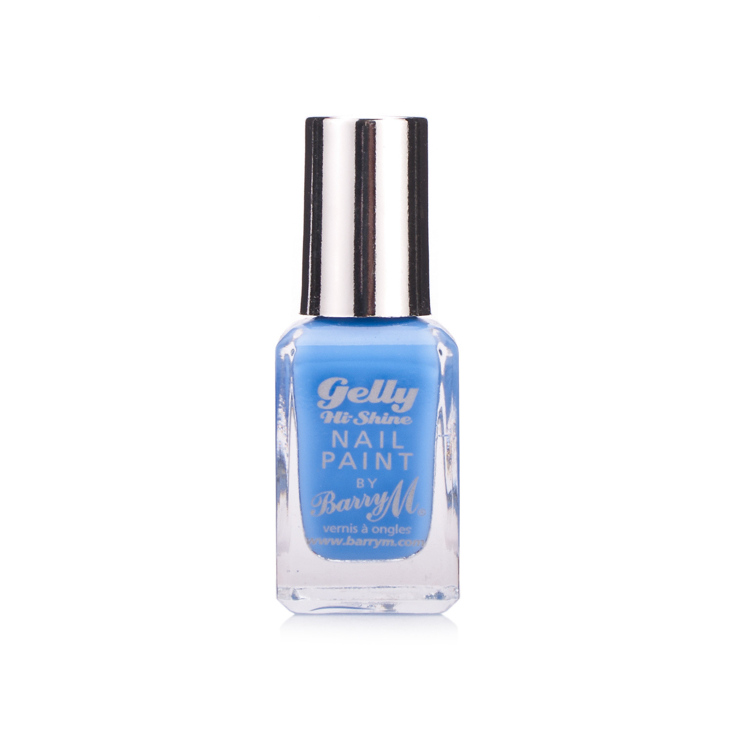 Barry M Gelly Hi Shine Nail Paint Blueberry