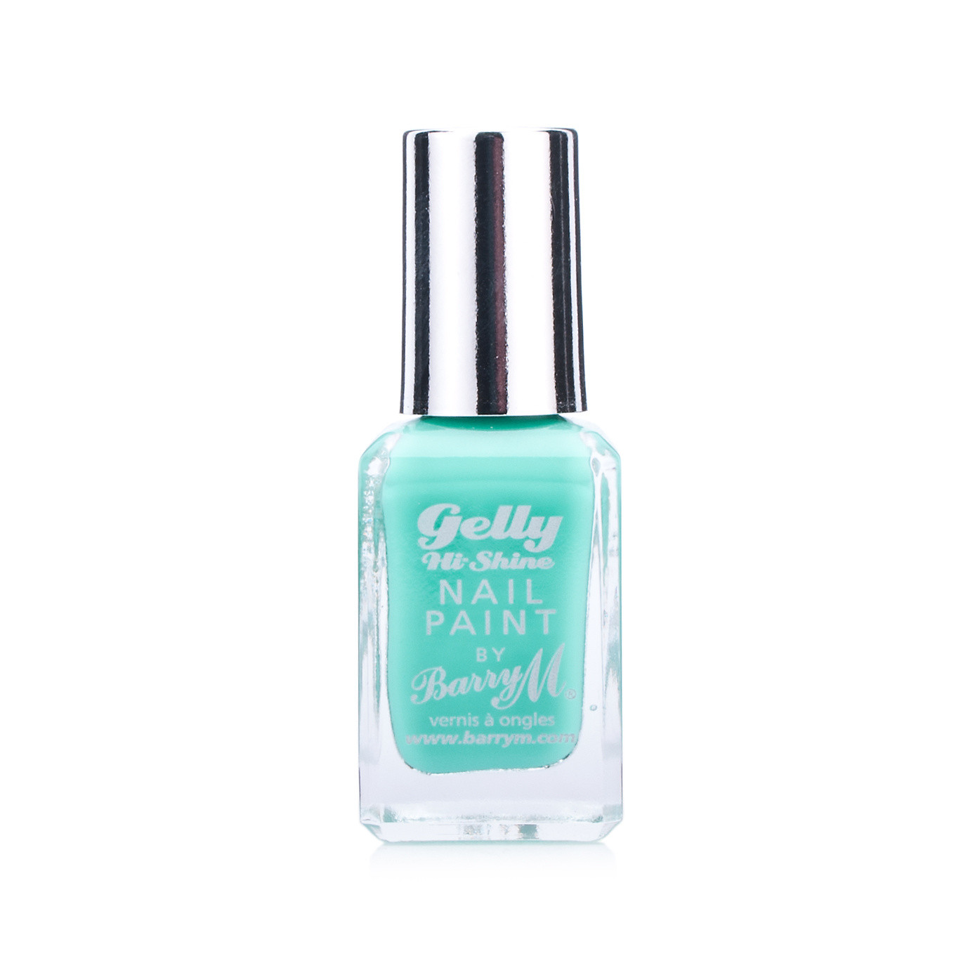 Barry M Gelly Hi Shine Nail Paint Green Berry