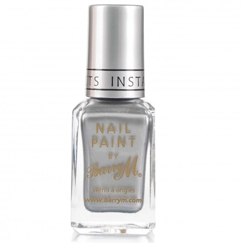 Barry M Instant Nail Effects Foils Silver