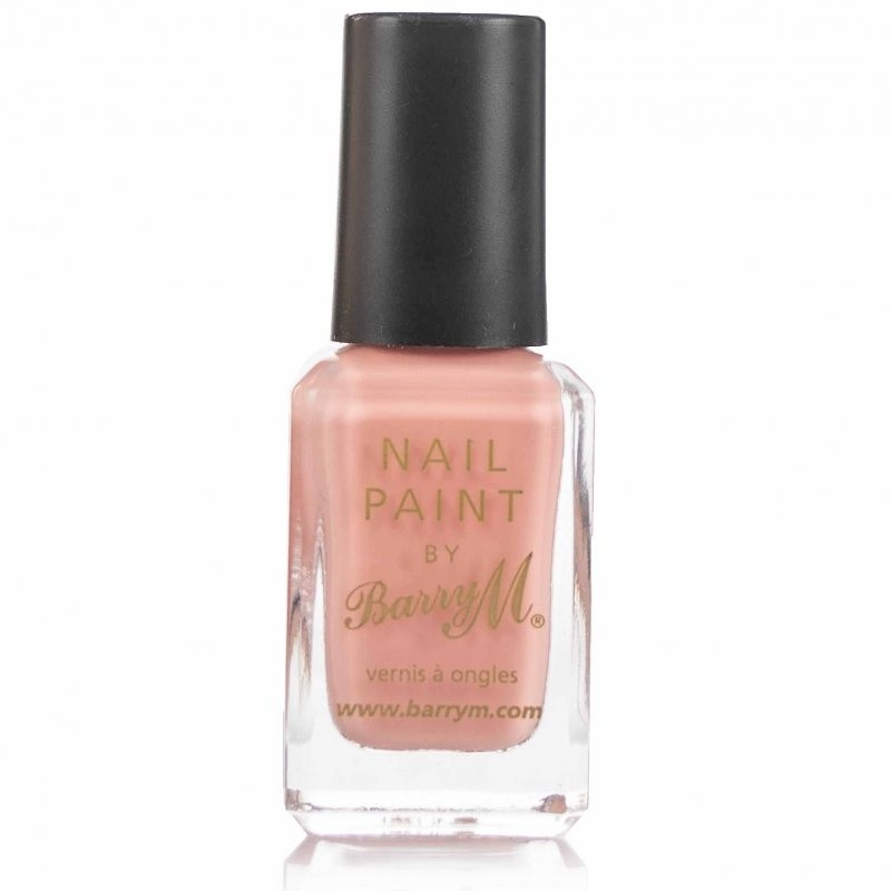 Barry M Nail Paint Peach Melba 318