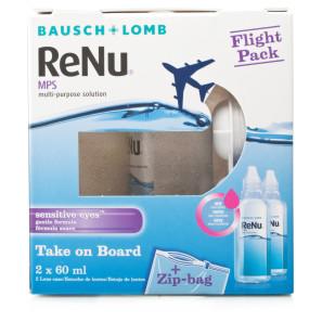 ea24ed3da4d0a Buy Bausch   Lomb ReNu Solution Flight Pack 2 x 60ml   Chemist Direct