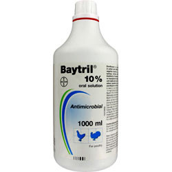 Baytril 10% Poultry Solution