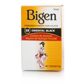 Bigen Hair Colour Oriental Black No59 Toiletries 299
