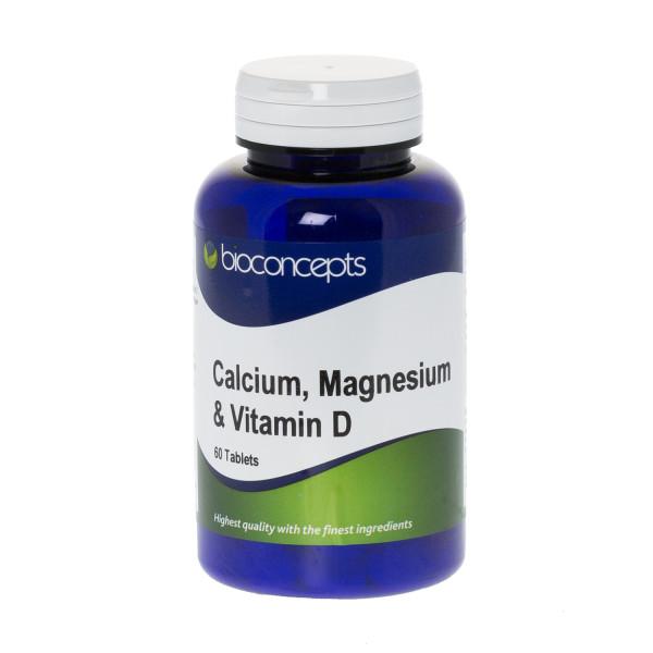 Bioconcepts Calcium Magnesium 400mg with Vitamin D