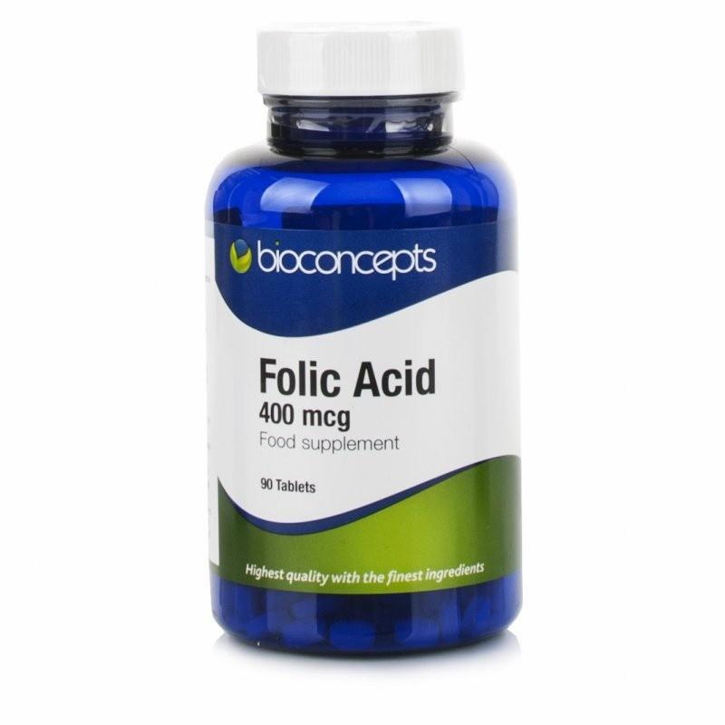 Bioconcepts Folic Acid 400mcg