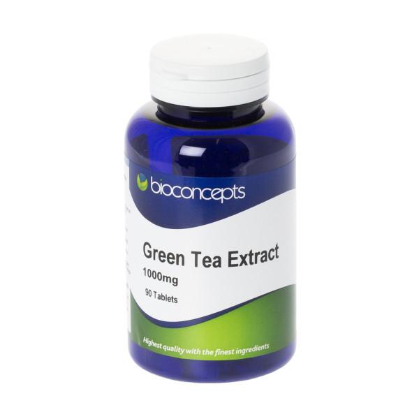 Bioconcepts Green Tea Extract Tablets 1000mg