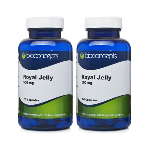 Bioconcepts Royal Jelly 500mg - 120 Capsules