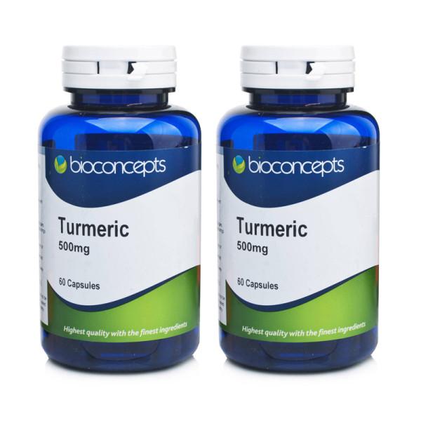 Bioconcepts Turmeric 500mg - 120 Capsules