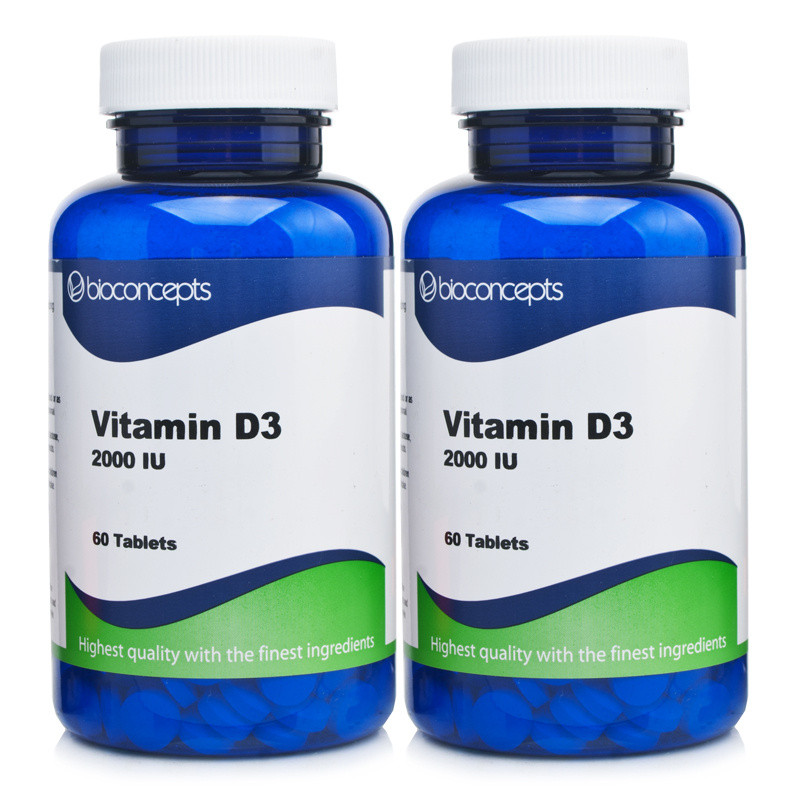 Bioconcepts Vitamin D3 2000IU  120 Tablets