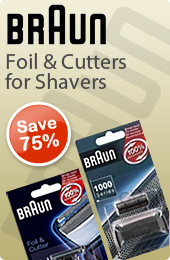 Braun Foil and Cutters