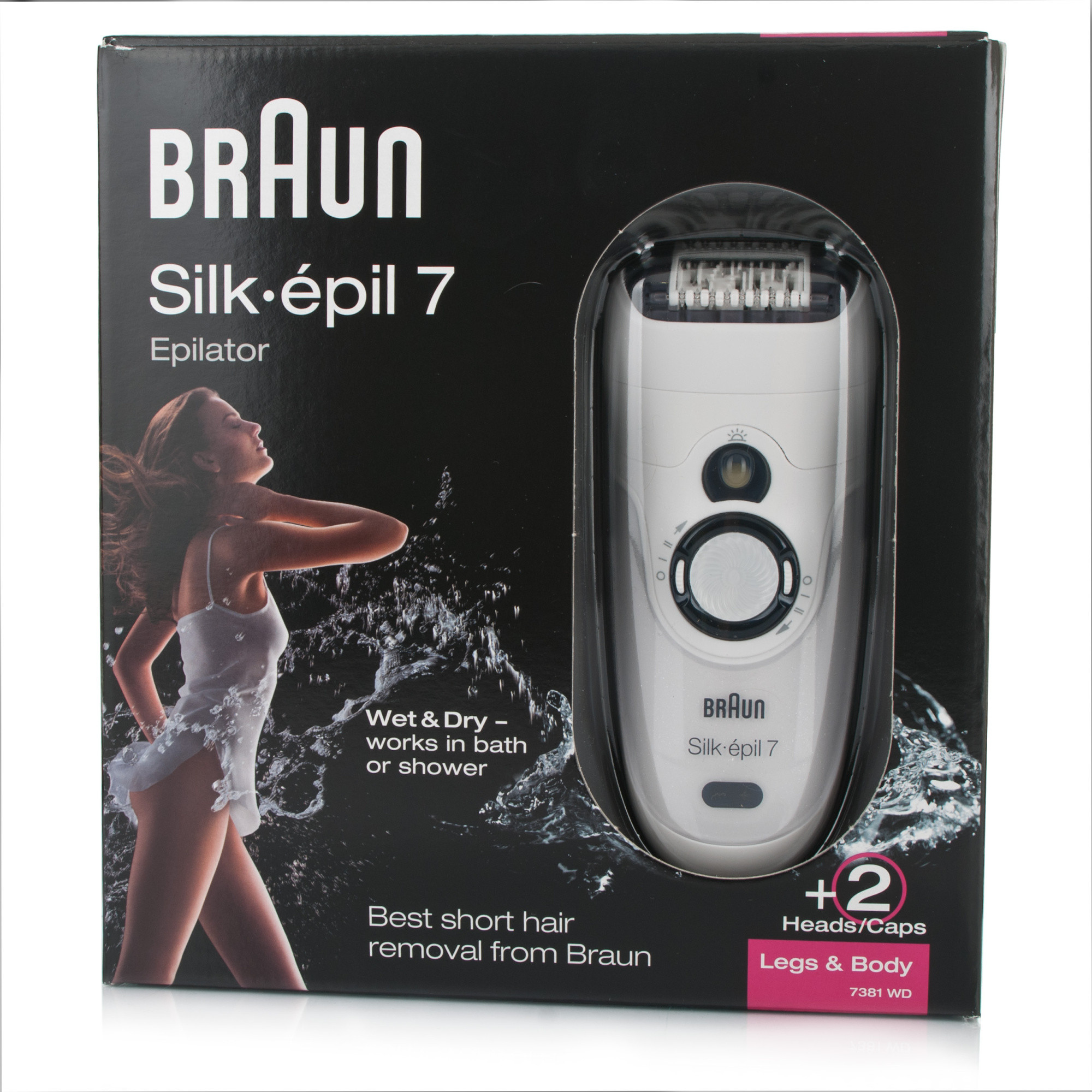 Braun Silk Epil 7 7181 Wet & Dry Epilator