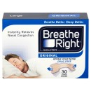 Breathe Right Congestion Relief Nasal Strips Original Large Eight Pack