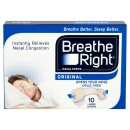 Breathe Right Congestion Relief Nasal Strips Original Large