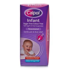 Calpol Infant Sugar Free Colour Free Oral Suspension | Chemist Direct