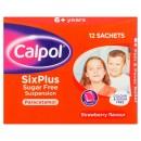 Calpol Six Plus Sugar Free Suspension Sachets