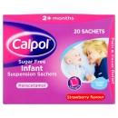 Calpol Sugar Free Infant Suspension Sachets