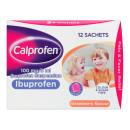 Calprofen Ibuprofen Suspension Sachets 12x5