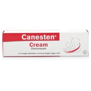 Canesten cream stings thrush