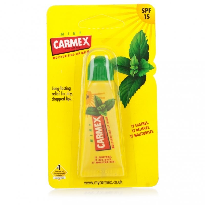 Carmex Mint Lip Balm Tube
