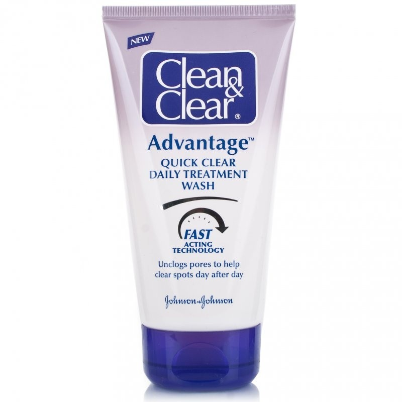 Clean And Clear Advantage Quick Clear Daily Treatment Wash DIS