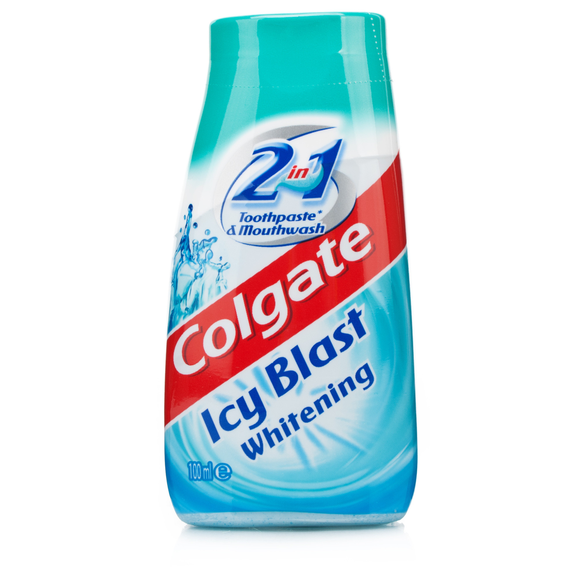 Colgate 2 in 1 Icy Blast Whitening Toothpaste & Mouthwash