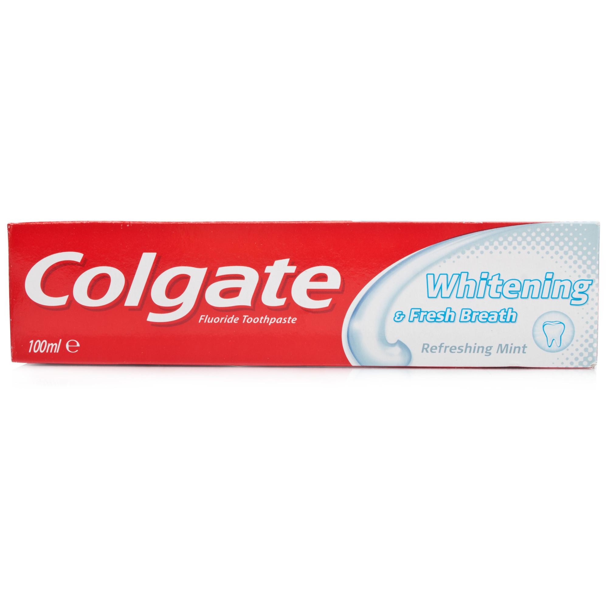 Colgate Whitening Amp Fresh Breath Toothpaste Chemist Direct