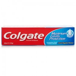 Colgate Maximum Cavity Protection Toothpaste Regular