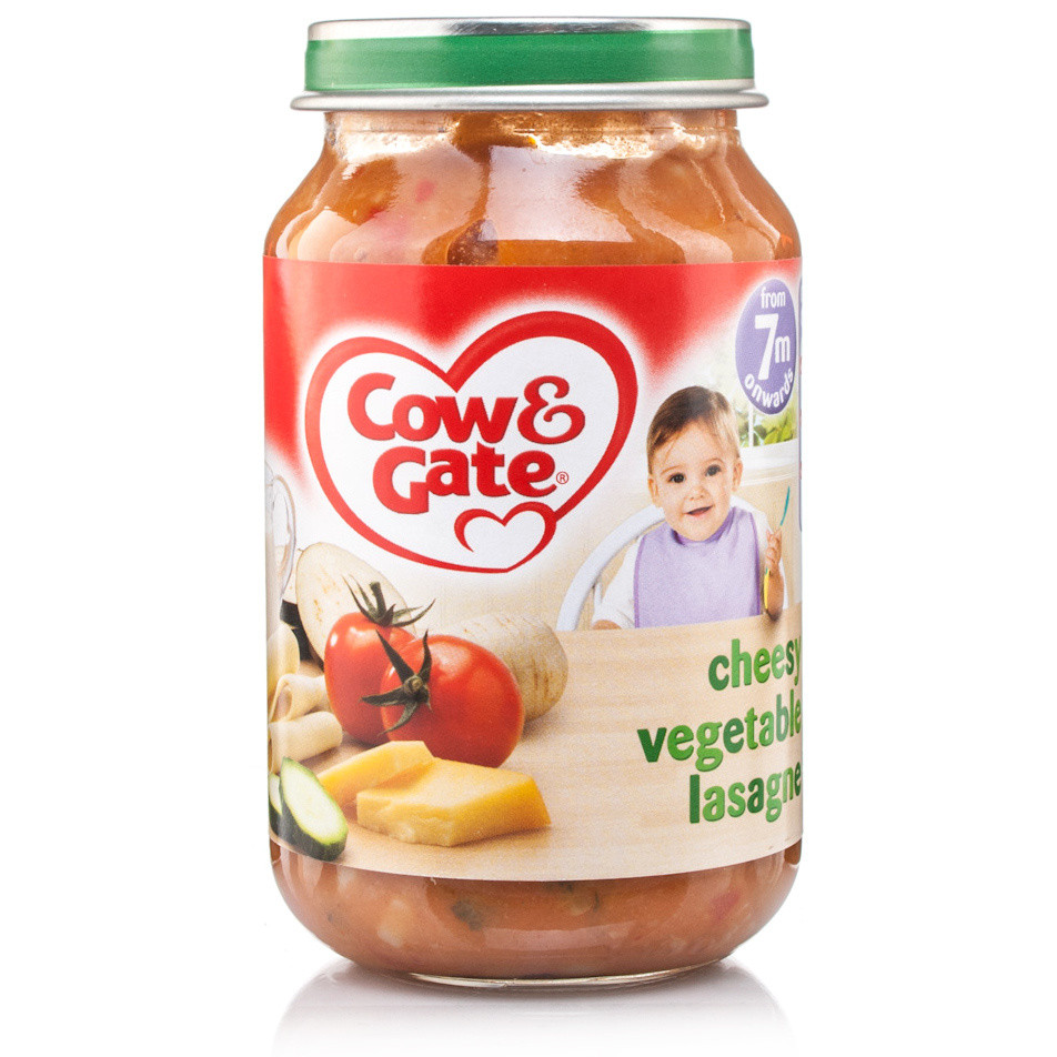 Cow gate stage 2 baby balance vegetable lasagne jar for Angel thai cuisine riverside