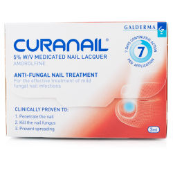 Curanail 5% Nail Lacquer Amorolfine Treatment