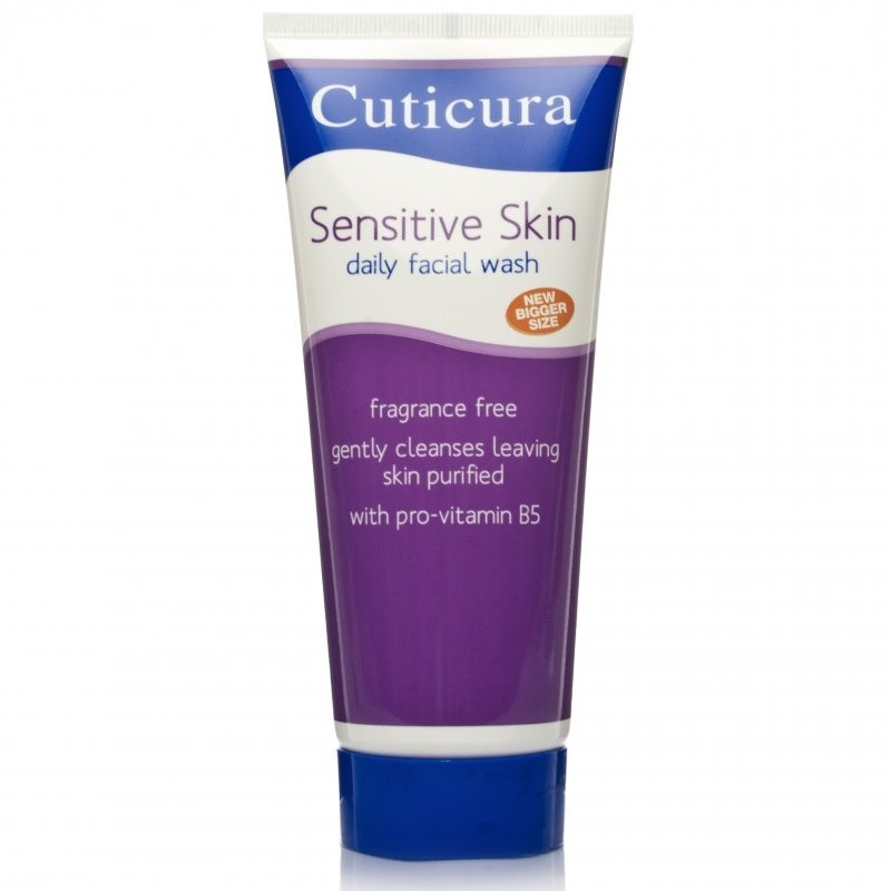 Cuticura Sensitive Facial Wash